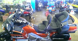 Honda GoldWing 1800 orange